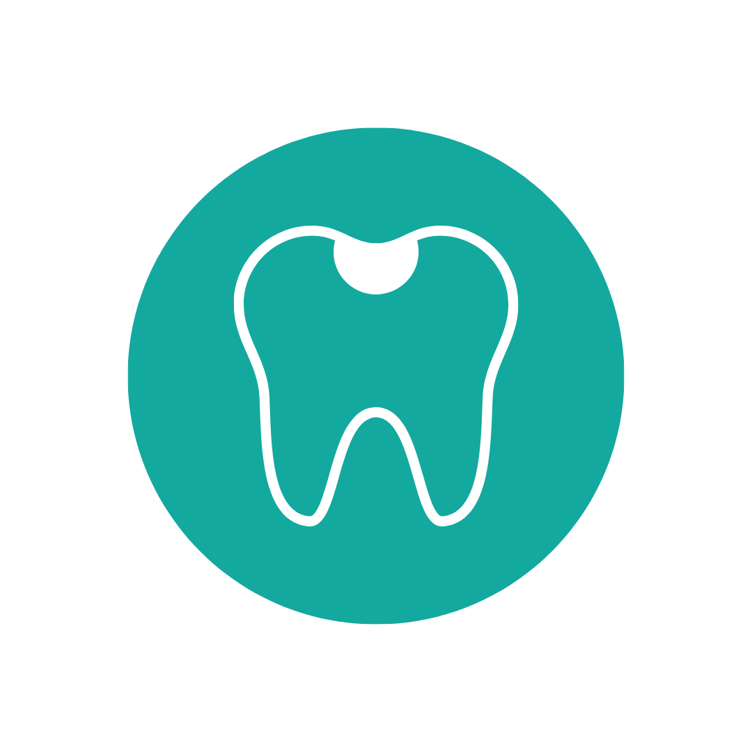 Cavity on a tooth